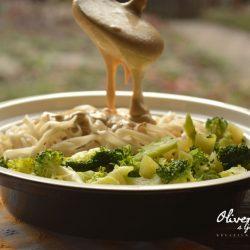 Pirinčani rezanci sa brokolijem
